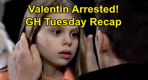 General Hospital Spoilers: Tuesday, January 7 Recap - Nik & Ava Marry - Valentin Arrested For Kidnapping Charlotte - Sonny Hijacking