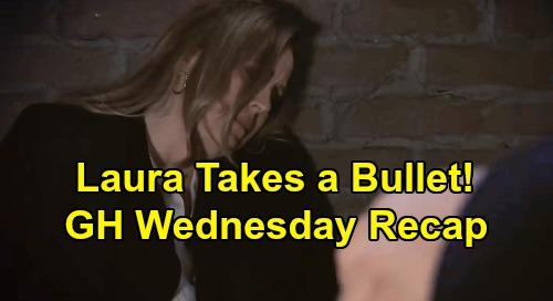 General Hospital Spoilers: Wednesday, January 29 Recap - Valentin & Martin Tricky Nelle Plan - Laura Shot - Jax & Nina Kiss