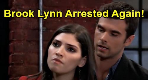 General Hospital Spoilers: Wednesday, May 6 Recap - Peter Didn't Kill Holly - Chase Arrests Brook Lynn Again - Alexis Disbarred