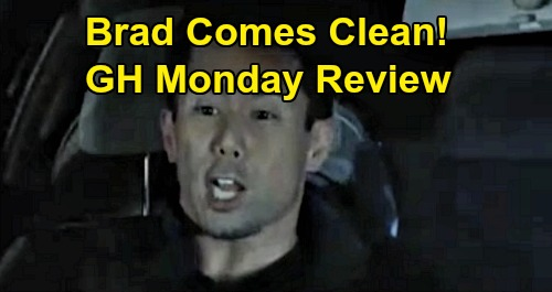 General Hospital Spoilers: Monday, December 2 Review - Brad Comes Clean Moments Before Car Accident - Alexis Paralyzed