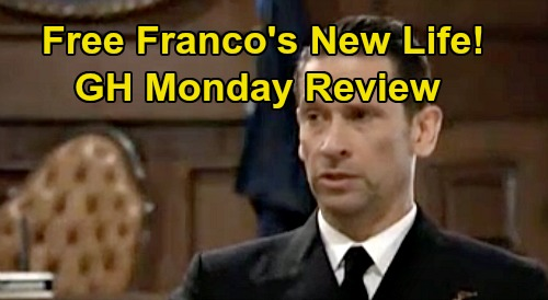 General Hospital Spoilers: Monday, October 28 Review - Franco Free, Considers Future - Julian Messes With Brad's Marriage