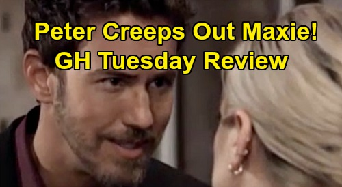 General Hospital Spoilers: Tuesday, October 29 Review - Sonny Considers Franco's Best Interests - Maxie Suspects Peter