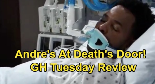 General Hospital Spoilers: Tuesday, September 3 Review – Andre Maddox On Death's Door – Curtis Teams With Hayden & Jax