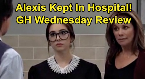 General Hospital Spoilers: Wednesday, October 30 Review - Ava's Portrait Mystery - Cam Drinking Disaster - Alexis Hospital Drama