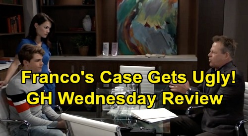 General Hospital Spoilers: Wednesday, October 9 Review - Shiloh's Phony Accomplice Captured - Is Franco Really Drew, Case Gets Ugly