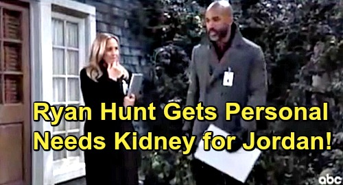 General Hospital Spoilers: Hunt For Ryan Turns Personal For Curtis - Needs Ryan's Kidney to Save Jordan