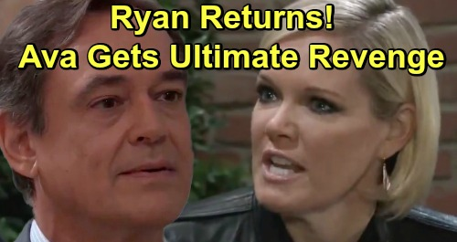 General Hospital Spoilers: Ryan's Alive, Shocking Return – Raging Ava Finishes Off Kiki's Killer
