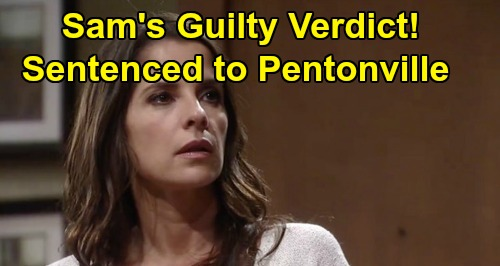 General Hospital Spoilers: Sam Shaken by Guilty Verdict, Hauled Back to Pentonville – Jason Steps Up to Sink Peter, Free His Love