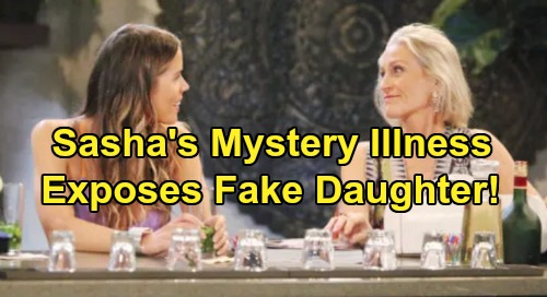 General Hospital Spoilers: Sasha's Mystery Illness - Medical Testing Leads to Fake Daughter Reveal