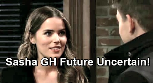 General Hospital Spoilers: Sasha's GH Future Uncertain – Can Sofia Mattsson's Character Survive After Terrible Betrayals?