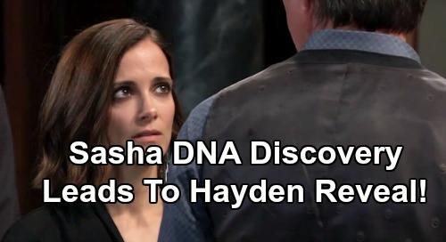General Hospital Spoilers: Finn Rocked by Sasha's DNA Truth – Confession to Hayden Brings His Own Child Reveal?