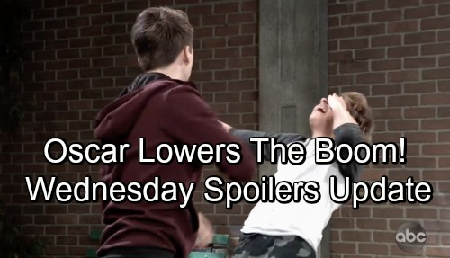 General Hospital Spoilers: Wednesday, September 12 Update – Kim's Terrible News – Oscar Punches Cameron – Chase Discovers Corpse Details