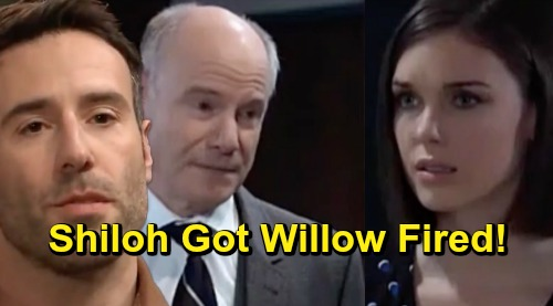 General Hospital Spoilers: Shiloh's Behind Willow's Firing – Bold Warning of Cult Leader's Power