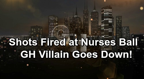 General Hospital Spoilers: Shots Fired at Nurses Ball - Bloody Battle Heats Up – Vile GH Villain Goes Down