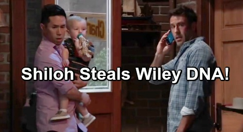 General Hospital Spoilers: GH Sneak Peek – Shiloh Steals Wiley DNA Evidence – Michael Vows to Protect Godson