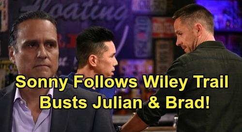 General Hospital Spoilers: Sonny Follows Wiley Trail, Investigates Julian & Brad's Dark Secret – Baby Swap Explodes?