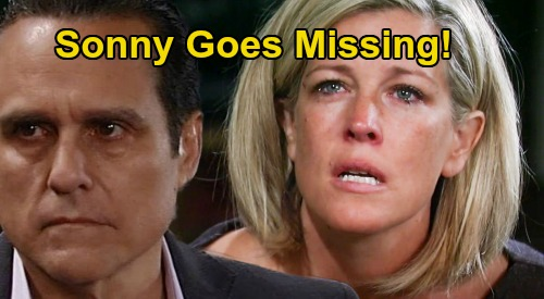 General Hospital Spoilers: Sonny Goes Missing, Carly Panics Over Vanishing Act – Terrible News Spells Tragedy