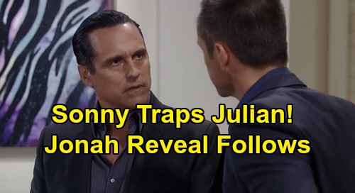 General Hospital Spoilers: Sonny Sets Julian Trap, Scores Murder Plot Proof – Jonah Baby Swap Secret at Stake?