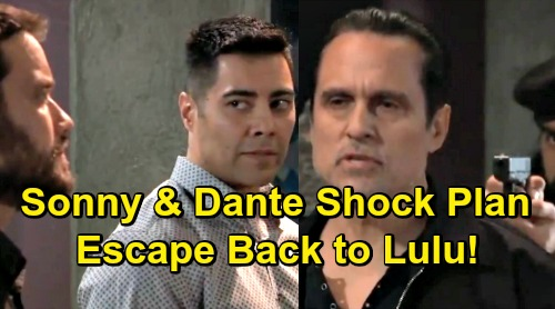 General Hospital Spoilers: Dante and Sonny's Desperate Escape Plot – Father and Son Team Up to Dupe Raj, Return to Port Charles