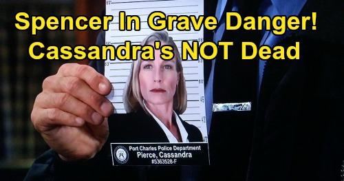 General Hospital Spoilers: Spencer's in Grave Danger, Not Dead Cassandra Strikes Back – Nikolas' Son at Risk?