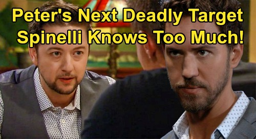General Hospital Spoilers: Spinelli Is Peter's Next Deadly Target – Hard Evidence Threatens Killer's Dream Life with Maxie?