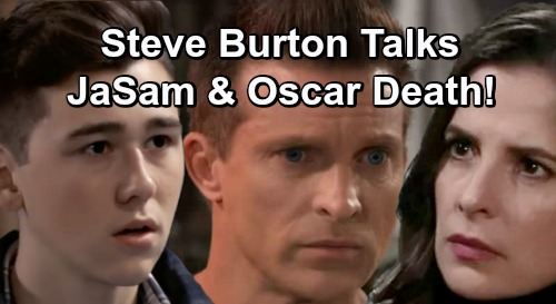 General Hospital Spoilers: Steve Burton Talks JaSam Love, Oscar's GH Survival Odds and More – Dangerous Road Ahead for Jason