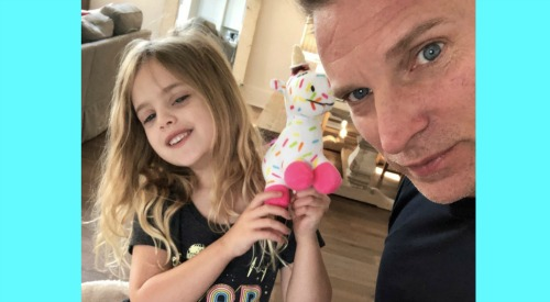 General Hospital Spoilers: Steve Burton's Sweet Family Time With Daughter Brooklyn - Fans Love Dad's Devotion
