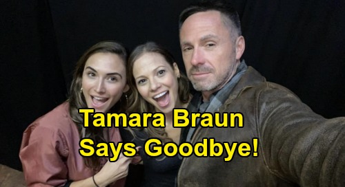 General Hospital Spoilers: Tamara Braun Confirms GH Exit, Final Airdate – Goodbye to Kim, William deVry Offers Support