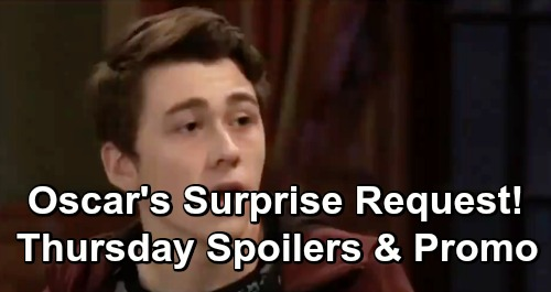 General Hospital Spoilers: Thursday, April 18 – Oscar Surprises Ned and Olivia – Alexis Rages – Shiloh's Leverage Brings Chaos