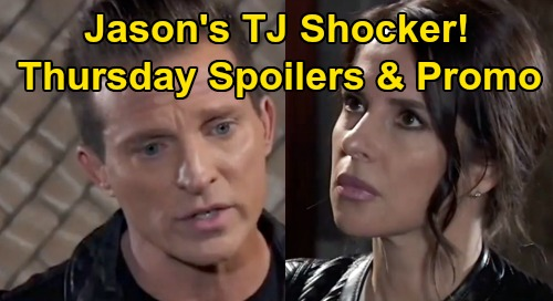 General Hospital Spoilers: Thursday, April 2 – Cyrus Threatens Kevin - Jason Warns Sam Off TJ – Brando Helps Molly
