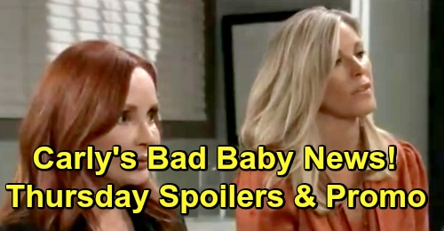 General Hospital Spoilers: Thursday, April 25 – Carly's Frightening Baby News – Lulu Returns – Josslyn Explodes at Cameron