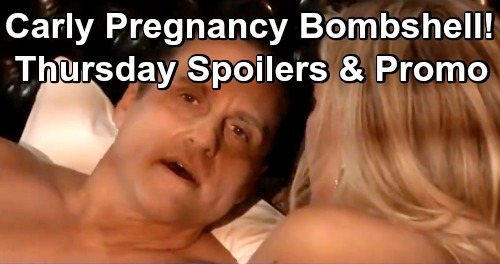 General Hospital Spoilers: Thursday, February 14 – Carly's Pregnancy Bombshell – Drew Marries Liz and Franco