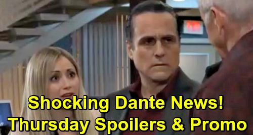 General Hospital Spoilers: Thursday, February 21 – Dante News Arrives for Lulu – Ryan Proposes to Ava – Harmony Warns Shiloh
