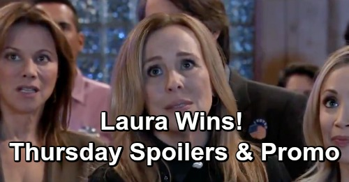 General Hospital Spoilers: Thursday, January 10 – Shiloh Favor Triggers Sam and Jason – Laura's Victorious