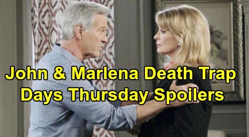 Days of Our Lives Spoilers: Thursday, January 16 – Stefano Lures John Into Death Trap – Kristen &  Lani Plan Gabi's Ruin