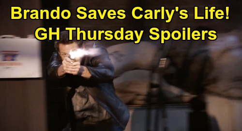 General Hospital Spoilers: Thursday, January 30 – Jason Forced to Kill – Brando Rescues Carly – Dustin Saves The Day