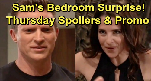 General Hospital Spoilers: Thursday, July 18 - Sam's Bedroom Surprise for Jason - Franco and Liz's Criminal Discovery