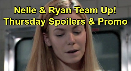 General Hospital Spoilers: Thursday, June 13 – Nelle and Ryan Team Up – Carly's Wrath Unleashed – Sonny's Shocking Discovery