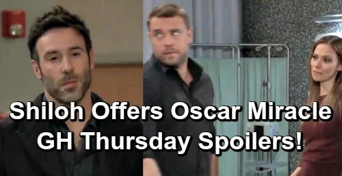 General Hospital Spoilers: Thursday, March 14 – Shiloh Offers Oscar a Miracle – Furious Ava Slaps Kevin – Chase Surprises Willow