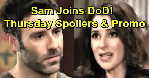 General Hospital Spoilers: Thursday, March 21 – Willow's Desperate Getaway Strategy – Mac Explodes at Kevin – Sam Joins DoD