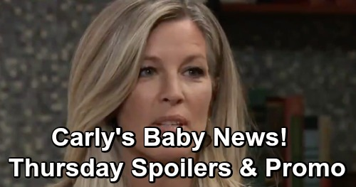 General Hospital Spoilers: Thursday, May 16 – Carly's Shocking Test Results - Kristina Warns Predator Shiloh Will Hurt Sam