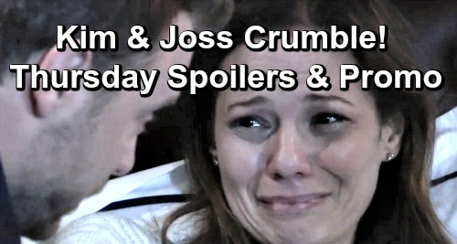 General Hospital Spoilers: Thursday, May 2 – Kim Crumbles Over Oscar's Death – Josslyn's Desperate Plea – Shiloh Rattles Willow