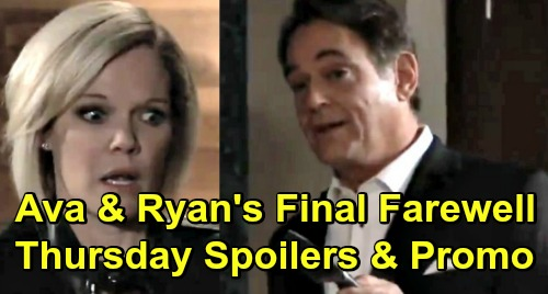 General Hospital Spoilers: Thursday, May 23 – Jordan's Dying - Ava and Ryan's Final Faceoff – Jason Races to Stop Shiloh