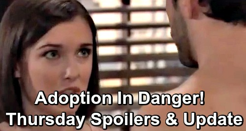 General Hospital Spoilers: Thursday, May 9 – Kim Becomes Shiloh's Prey – Wiley's Adoption in Jeopardy – Lucas Demands Answers