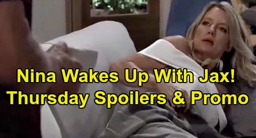 General Hospital Spoilers: Thursday, October 10 – Nina Wakes Up with Jax – Charlotte Explodes at Lulu – Liesl Wants Rid of Sasha