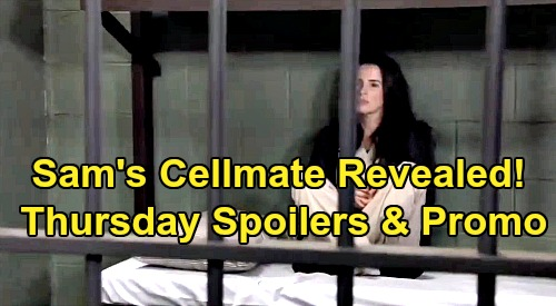 General Hospital Spoilers: Thursday, October 31 – Sam's Cellmate Revealed - Ava Confronts Stalker – Willow Rescues Sasha