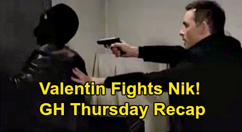 General Hospital Spoilers: Thursday, December 5 Recap - Valentin Fights Nikolas - Nina Figures Out Ava's Ghost - Nelle & Sam Cellmates