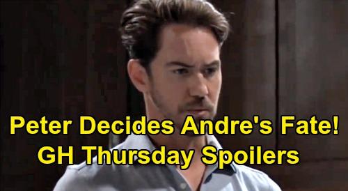 General Hospital Spoilers: Thursday, September 5 – Jason Asks Who Wants Andre Dead – Sonny Talks Adoption - Peter Decides Andre's Fate