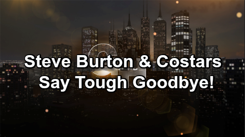 General Hospital Spoilers: Steve Burton and Costars Say Tough Goodbye – GH Coworker Departure Brings Emotional Farewell Messages