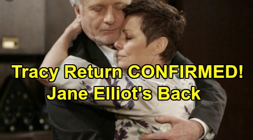 General Hospital Spoilers: Jane Elliot's Holiday Return as Tracy Quartermaine Confirmed